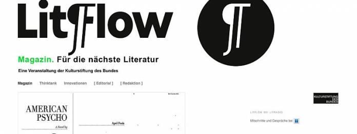 LitFlow. Für die nächste Literatur.