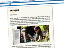 Kindle in Deutschland: Ankündigung auf amazon.de