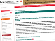 Bericht auf boersenblatt.net