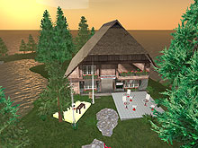 Das literaturcafe.de in Second Life