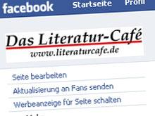 Facebook-Fan-Seite einer bekannten Literatur-Website
