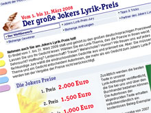 jokers Lyrikpreis 2008