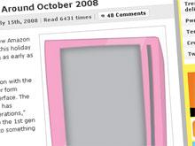 Sieht so das Kindle 2.0 aus?