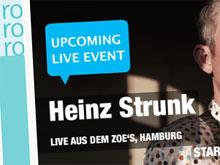 Heinz Strunk liest live