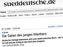Der Bericht auf sueddeutsche.de