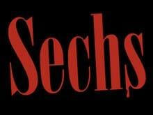 »Sechs«-Schriftzug des Romans von Niels Gerhardt