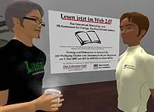 Vortrag des literaturcafe.de am 3. Mai in Second Life: Online-Marketing für Verlage, Buchhandel und Autoren