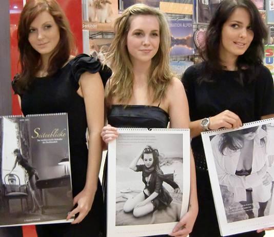 Kalender-Interview: Buchhändlerinnen als Erotik-Models – Buchmesse-Podcast 2010