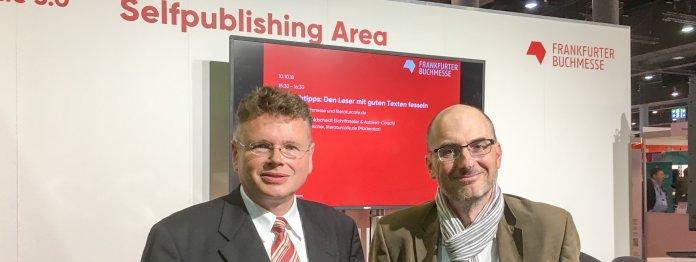 Wolfgang Tischer (links) und Stephan Waldscheidt