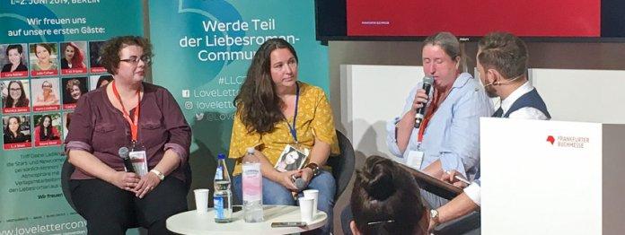 Von links: Katrin Graßmann, Violet Truelove, Tina Dick und Thorsten Simon