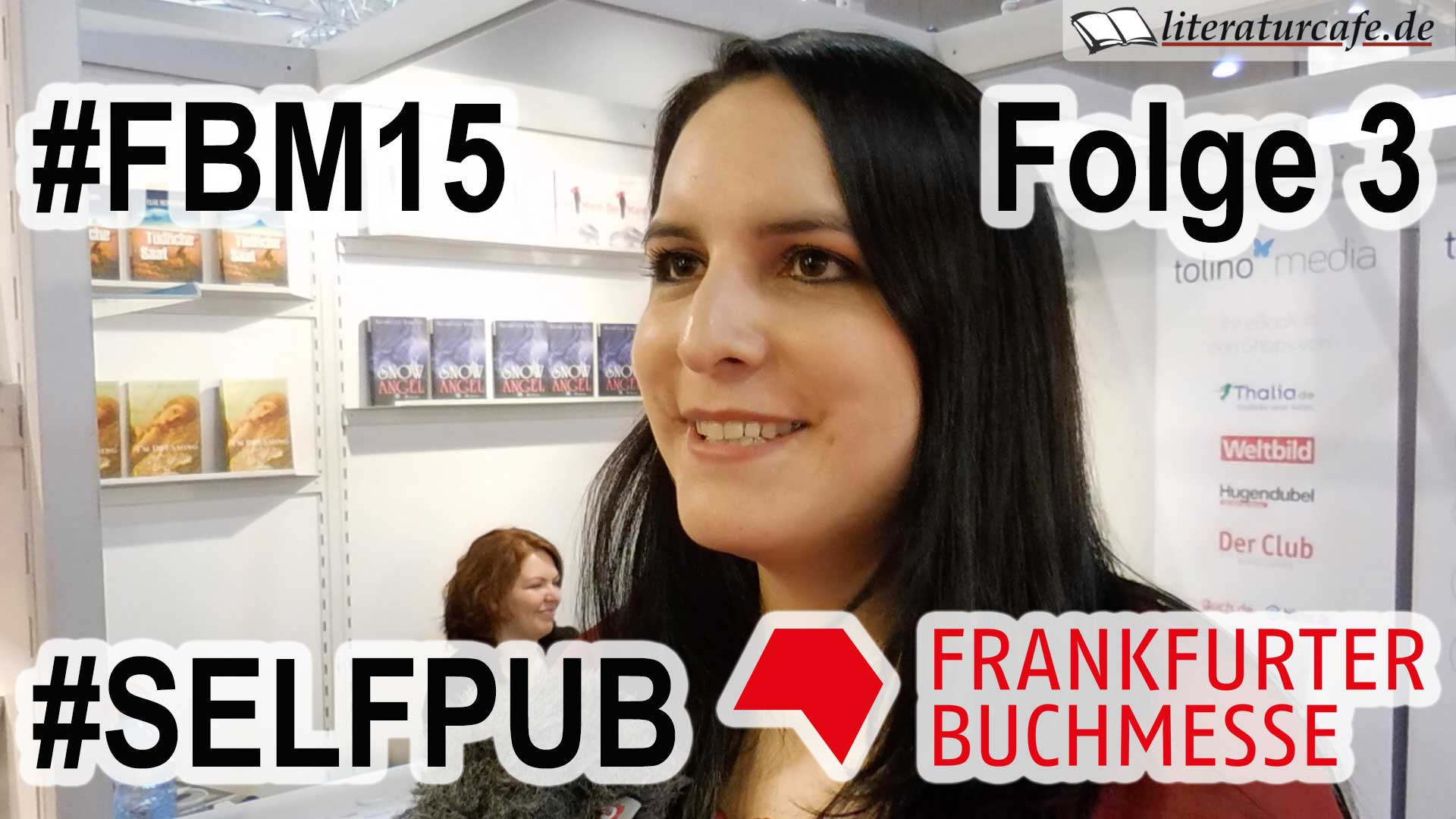 Self-Publishing-Podcast von der Frankfurter Buchmesse 2015 - Folge 3