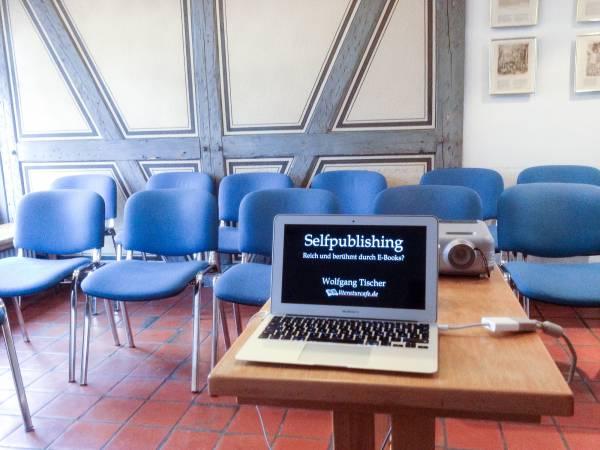 Self-Publishing-Seminar im Stuttgarter Schriftstellerhaus: E-Books erstellen und verkaufen