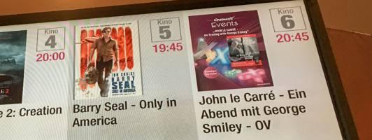 John le Carré - Lesung im Kino