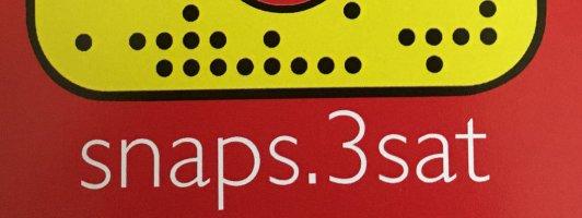 Postkarte mit dem 3sat-Snapcode snaps.3sat (Klick zum Vergrößern und Abscannen)