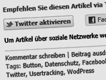 Mehr Datenschutz mit Social-Opt-In