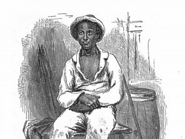 Der Autor Solomon Northup, gezeichnet von Nathaniel Orr für die Erstausgabe von 1855.