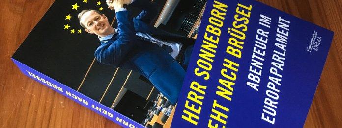 Das Buch »Herr Sonneborn geht nach Brüssel - Abenteuer im Europaparlament«