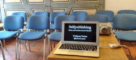 Self-Publishing-Seminar im Stuttgarter Schriftstellerhaus