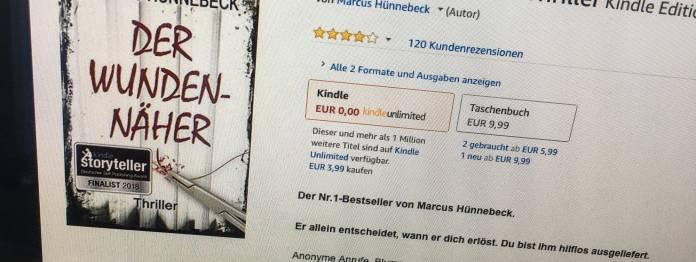 Marcus Hünnebeck: Der Wundennäher