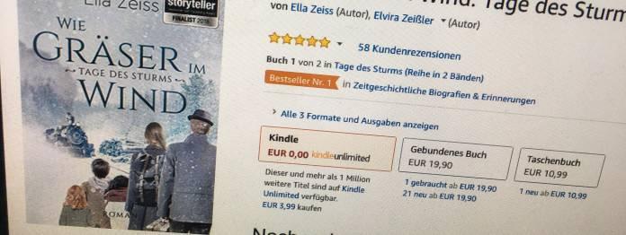 Ella Zeiss: Wie Gräser im Wind