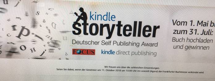 Kindle Storyteller 2018 - Ein Blick auf die Shortlist