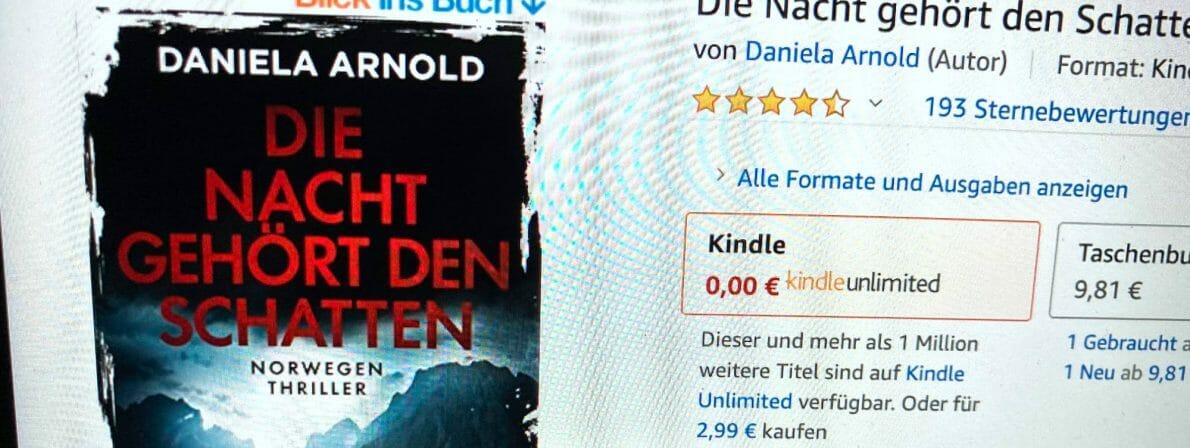 Daniela Arnold: Die Nacht gehört den Schatten