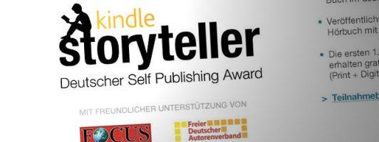 Nummer kleiner: Kindle Storyteller Award geht in die zweite Runde
