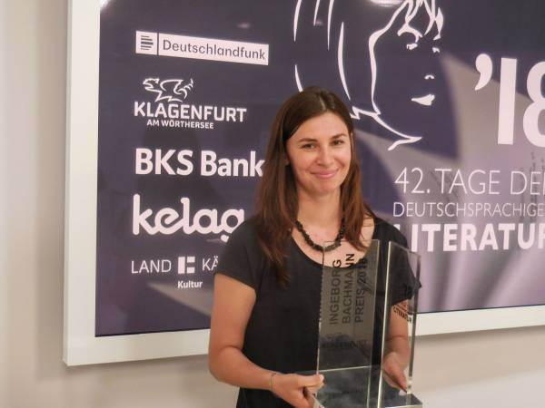 Tanja Maljartschuk, Insa Wilke, Özlem Özgül Dündar und Hubert Winkels – Bachmannpreis-Podcast 2018 – Folge 6 und nach der Preisverleihung