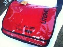 Die offizielle Tasche der #tddl heuer in rot.