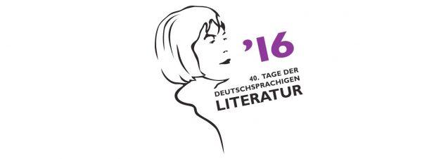 Logo der 40. Tage der deutschsprachigen Literatur in Klagenfurt