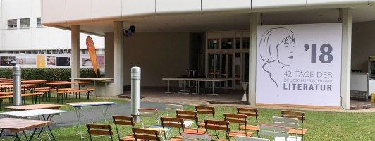 Noch ist alles ruhig: Heute Abend werden die 42. Tage der deutschsprachigen Literatur im ORF-Studio Kärnten eröffnet