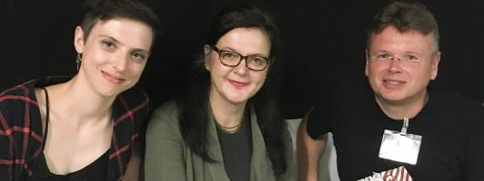 Von links: Jessica Lind, Doris Brockmann und Wolfgang Tischer