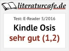 Testsiegel: E-Reader 5/2016 - Kindle Oasis: sehr gut (1,2)