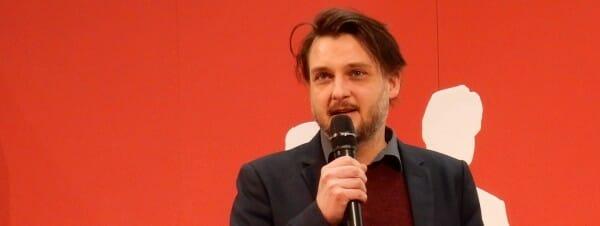 Tilman Rammstedt auf der Leipziger Buchmesse 2016