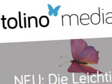 Screenshot der Tolino-Media-Website