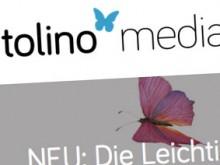 Screenshot der Tolino-Media-Website