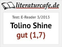 Tolino Shine - Testbewertung gut (1,7)