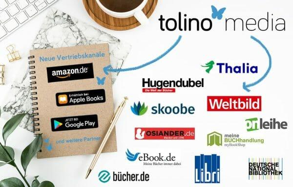 Die Tolino-Vertriebskanäle ab Februar 2021 (Foto: Tolino Media)
