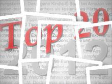 Die Top-20 Beiträge 2012 im literaturcafe.de√