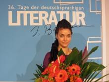 Cornelia Travnicek gewann in Klagenfurt 2012 den mit 7.000 Euro dotierten Publikumspreis