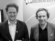 Claas Triebel und Clemens Dreyer