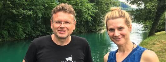 Wolfgang Tischer und Valentina Hirsch