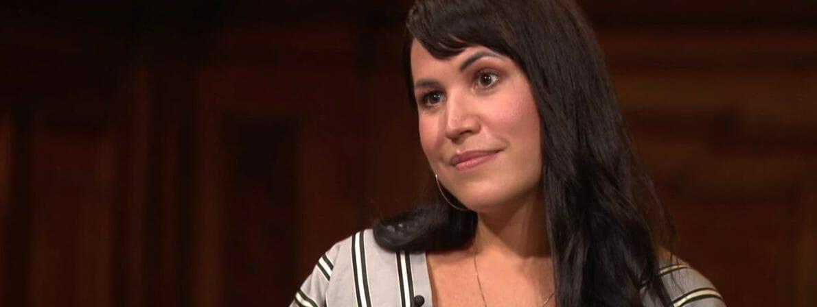 Vea Kaiser, Gast im Literarischen Quartett vom 28.08.2020 (Screenshot: ZDF)