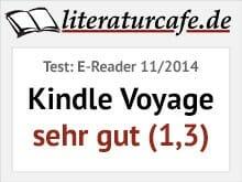 Kindle Voyage - Testbewertung sehr gut (1,3)