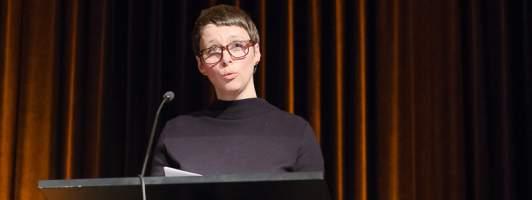 Laudatorin Claudia Gabler (Foto: Birgit-Cathrin Duval)