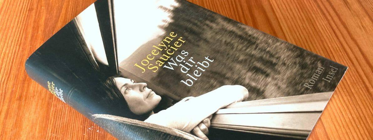 Jocelyne Saucier: Was dir bleibt, erschienen im Insel Verlag