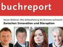 Die Referenten und Diskutanten (v.li.): Wolfgang Tischer, Jan F. Wielpütz, Zoe Beck (©Victoria Tomaschko) und Tina Folsom