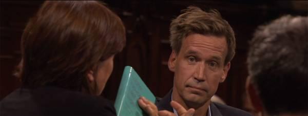 Volker Weidermann: Das Gesicht zu Julia Wolf (Quelle: ZDF)