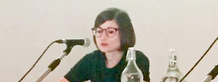 Sabine Erbrich vom Suhrkamp Verlag (Foto: Barbara Fellgiebel)