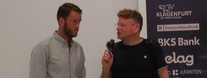 Michael Wiederstein (links) im Gespräch mit Wolfgang Tischer